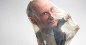 """Путін """"рекламує"""" презервативи в Бразилії: курйозні фото"""