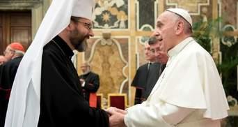 Глава УГКЦ высказался о возможности признания Римско-католической церковью