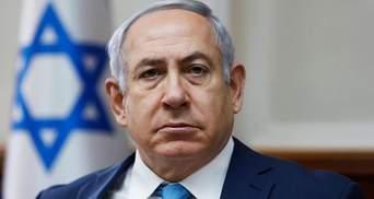 Премьера Израиля срочно эвакуировали во время выступления: видео