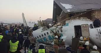 Авіакатастрофа у Казахстані: опубліковано список загиблих і постраждалих – відео