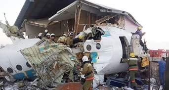 Авиакатастрофа в Казахстане: приостановлены полеты всех лайнеров Fokker
