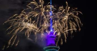 Новая Зеландия уже встретила Новый год: яркие фото