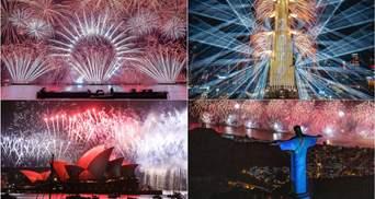 Как мир встретил Новый год: яркие фото из разных уголков планеты