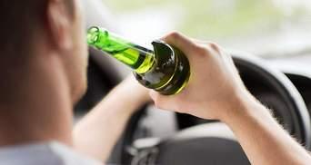 Скільки п'яних водіїв затримали поліцейські у 2019 році