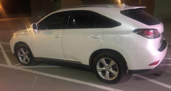 Россиянин хотел выехать из Украины на угнанном Lexus: фото