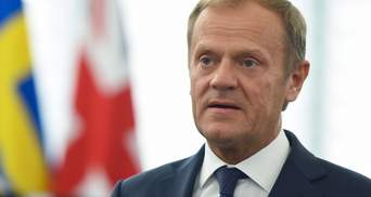 Путін хоче розпаду Євросоюзу і НАТО, – Туск