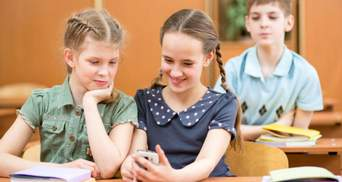 Використання телефону на уроці: думка дітей та вчителів
