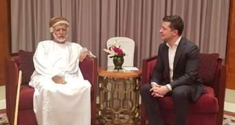 Зеленський в Омані провів першу зустріч: деталі