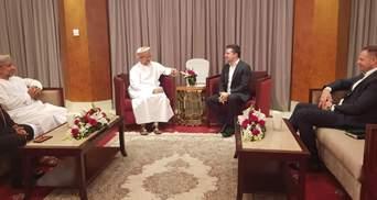 Зеленський провів ще одну зустріч у Омані