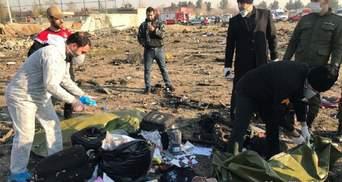 Расследование катастрофы МАУ: Украина получила важные данные от США