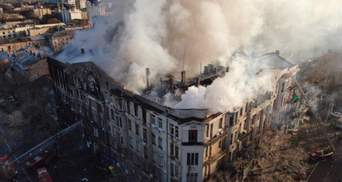 Що буде з будівлею одеського коледжу, де трапилася смертельна пожежа