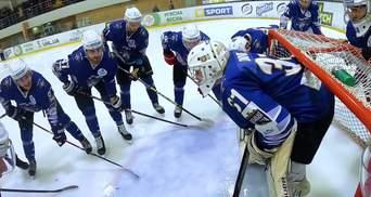 Як виглядає закинута шайба очима хокеїста: незвичне відео з матчу