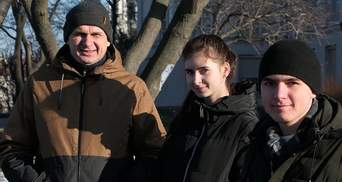 Семья Сенцова переехала в Киев из оккупированного Крыма