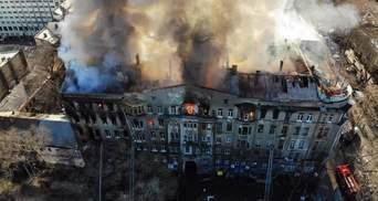 Пожар в Одессе: еще одной работнице колледжа сообщили о подозрении