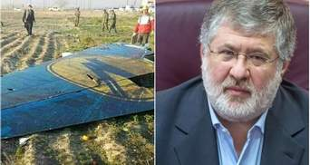 Президент МАУ рассказал, как Коломойский отреагировал на катастрофу самолета в Иране