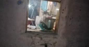 Грабитель застрял в окне, когда пытался сбежать