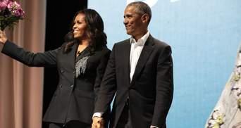 В каждой сцене ты моя звезда: трогательное поздравление Барака Обамы для жены