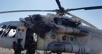 Ракета влучила у вертоліт в Афганістані, постраждали українці: фото