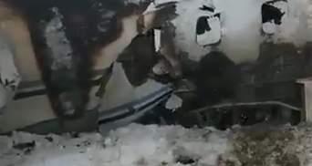 Авиакатастрофа в Афганистане: появилось видео горящего самолета