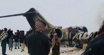 Пентагон підтвердив катастрофу літака США в Афганістані, але причетність талібів заперечують