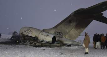 На месте авиакатастрофы в Афганистане нашли тела американских военных