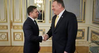 Встреча Зеленского и Помпео: главные тезисы