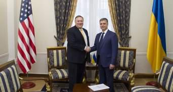 Помпео в Украине: о чем Госсекретарь США говорил с Пристайко