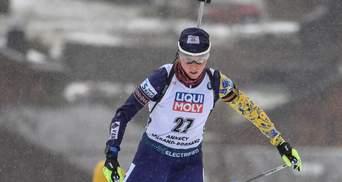 Украинка Блашко возглавила рейтинг лучших стрелков в биатлоне