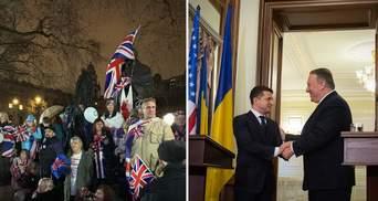 Главные новости 31 января: Британия окончательно вышла из ЕС, Помпео в Украине
