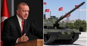 Загострення в Сирії: Ердоган відповів танками на дії армії Путіна