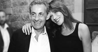 Карла Бруні підкорила мережу привітанням у річницю весілля з Ніколя Саркозі: архівні світлини