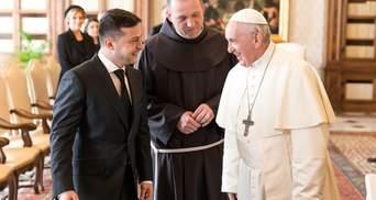 Зеленский встретился с Папой в Ватикане: о чем говорили