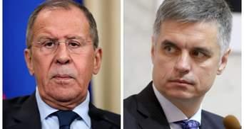МИД Украины отреагировало на заявление Лаврова об обмене послами