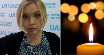 Внезапно умерла украинская журналистка Ольга Шеремет