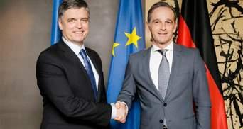 Германия посоветовала Украине пути прекращения войны на Донбассе