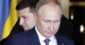 Прохолодно було не тільки на вулиці, – Зеленський про зустріч із Путіним
