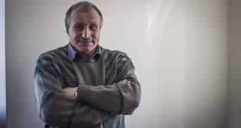 Осужденный россиянами в Крыму Николай Семена уже в Киеве: трогательные фото