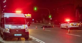 Полицейского, который пьяным в Броварах сбил двух пешеходов, арестовали