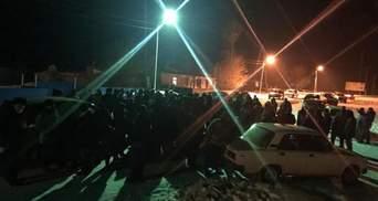 В Казахстане массовые протесты против госпитализации больных коронавирусом: видео