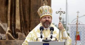 Глава УГКЦ звернувся до українців, які блокують госпіталі через коронавірус