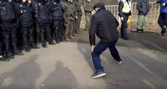 Большинство задержанных в Новых Санжарах – не местные: в некоторых узнали титушок