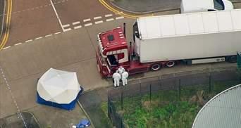 Грузовик с 39 телами в Британии: полиция выразила официальные обвинения