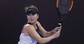 Свитолина и Ястремская вылетели в первом круге турнира в Дохе