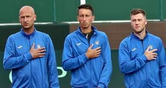 Кубок Дэвиса: сборная Украины объявила состав на матч против Тайваня