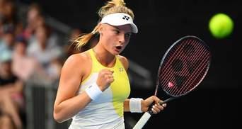 Ястремская уверенно победила опытную бельгийку на турнире WTA