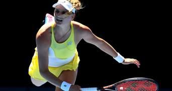 Украинская теннисистка Ястремская сенсационно победила 5 ракетку мира на турнире WTA