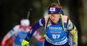 Чемпіонат Європи з біатлону: Олена Підгрушна стала срібною призеркою
