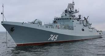 Два російських фрегати з крилатими ракетами перетнули Босфор і прямують у Сирію