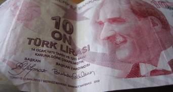 Курс турецької ліри впав, на фондовому ринку обвал: наслідки конфлікту Туреччини й РФ у Сирії