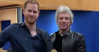 Принц Гаррі і Бон Джові записали пісню для Ігор нескорених: відео